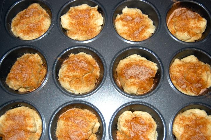 GF Cinnamon Sugar Muffins