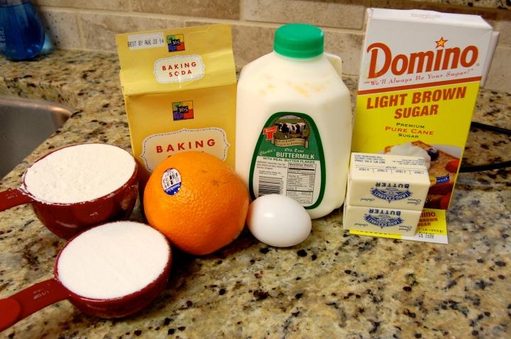 Gluten-free Orange Blossom Muffins