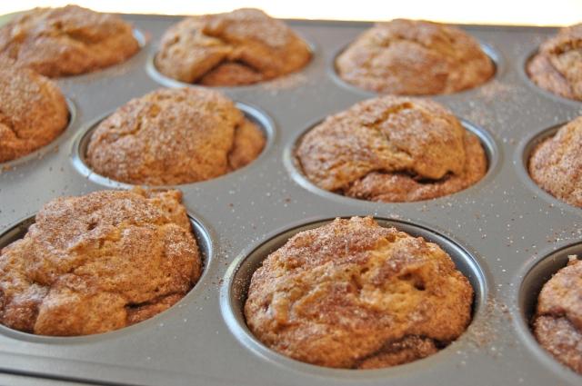Em the Baker: GF Cinnamon Swirl Banana Muffins
