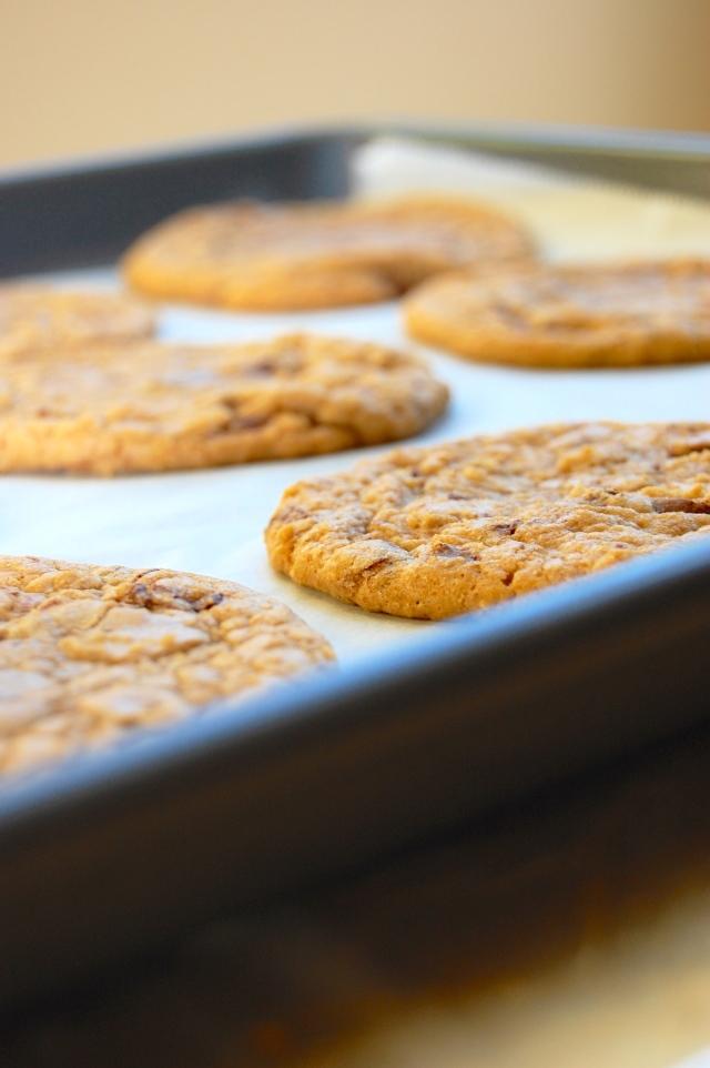Em the Baker: Brown Butter Chocolate Chunk Cookies (gluten free)