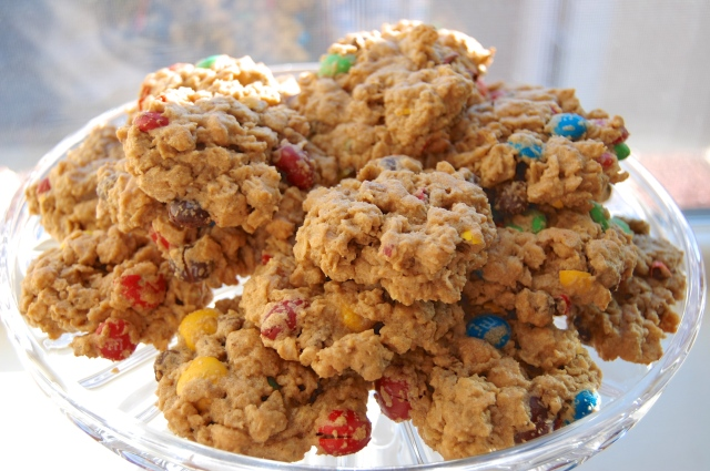 GF Monster Cookies