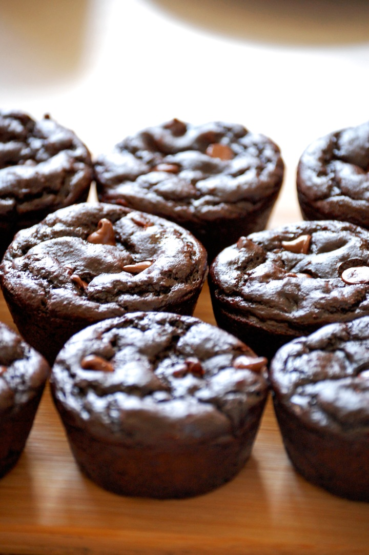 Em the Baker: Gluten Free Skinny Chocolate Muffins