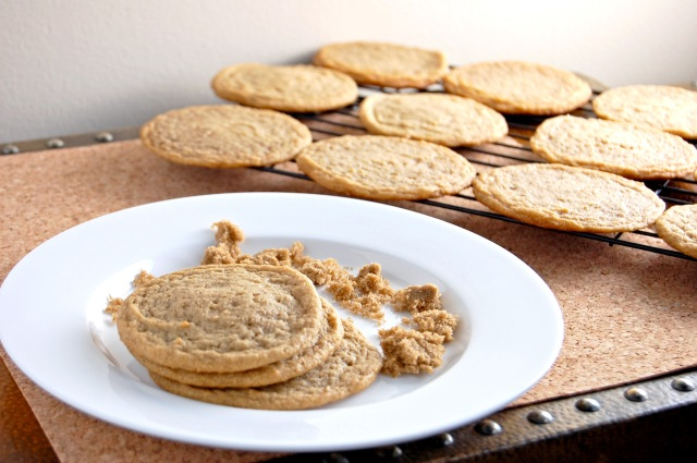 Gluten Free Brown Sugar Cookies | emthebaker.com