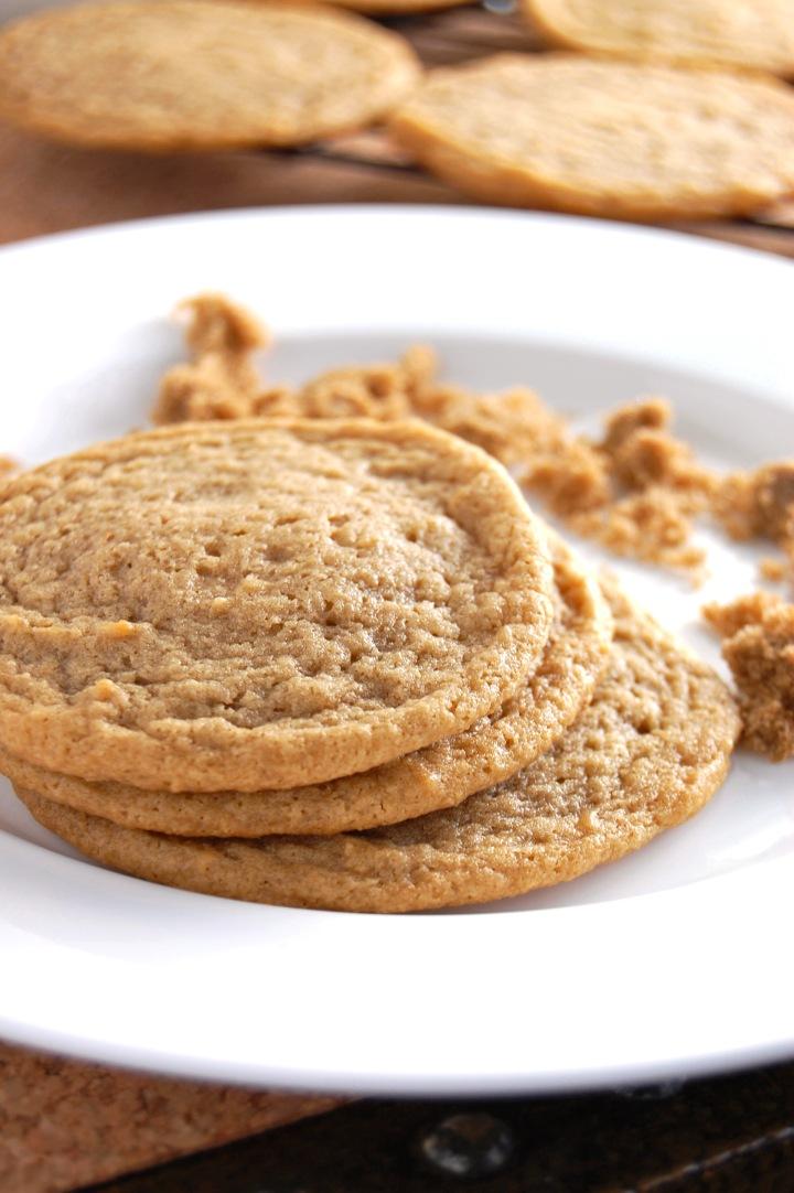 Gluten Free Brown Sugar Cookies | emthebaker.com