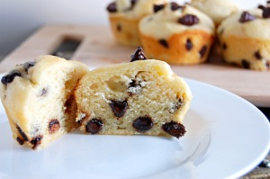Gluten Free Chocolate Chip Muffins {incredibly fluffy, perfect anytime of day!}   emthebaker.com