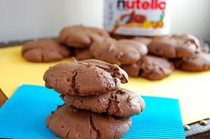Gluten Free Nutella Cookies | emthebaker.com