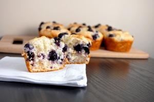 Gluten Free Bluebery Muffins {easy to make, hard to resist!}   emthebaker