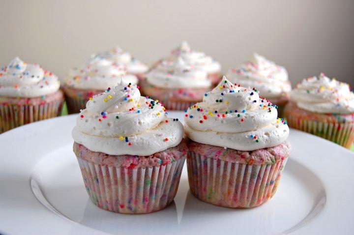 Gluten Free FunfettiCupcakes